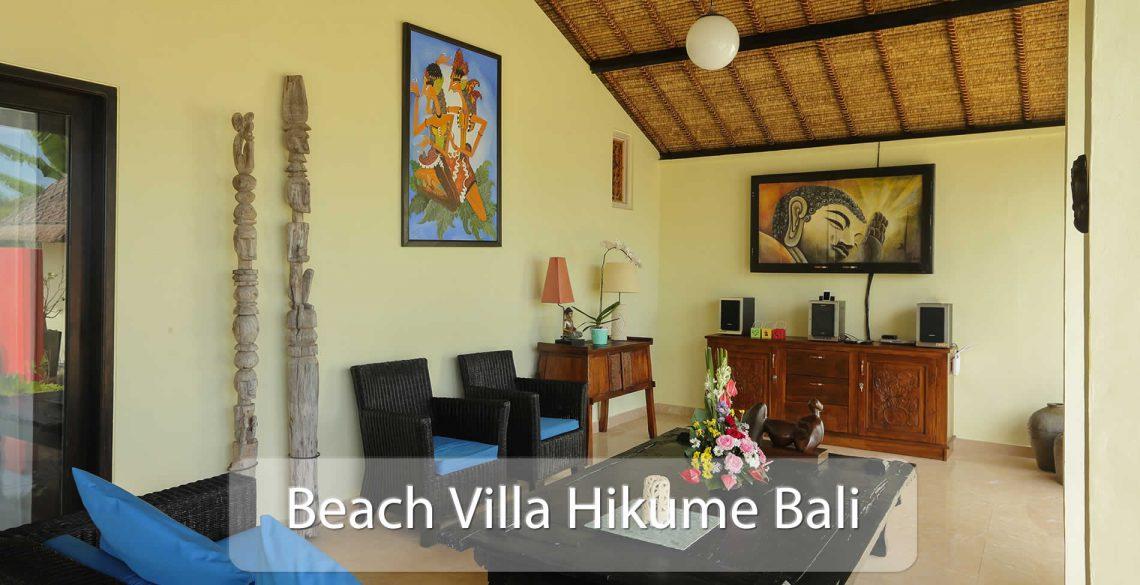 Beach Villa Hikume Terrace