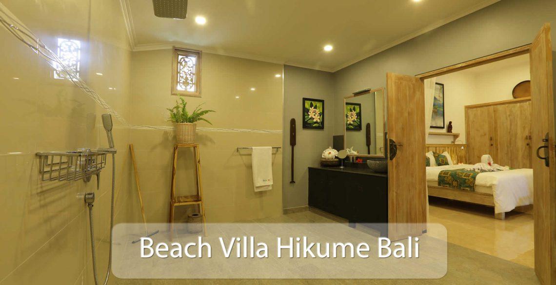 Beach Villa Hikume Inside