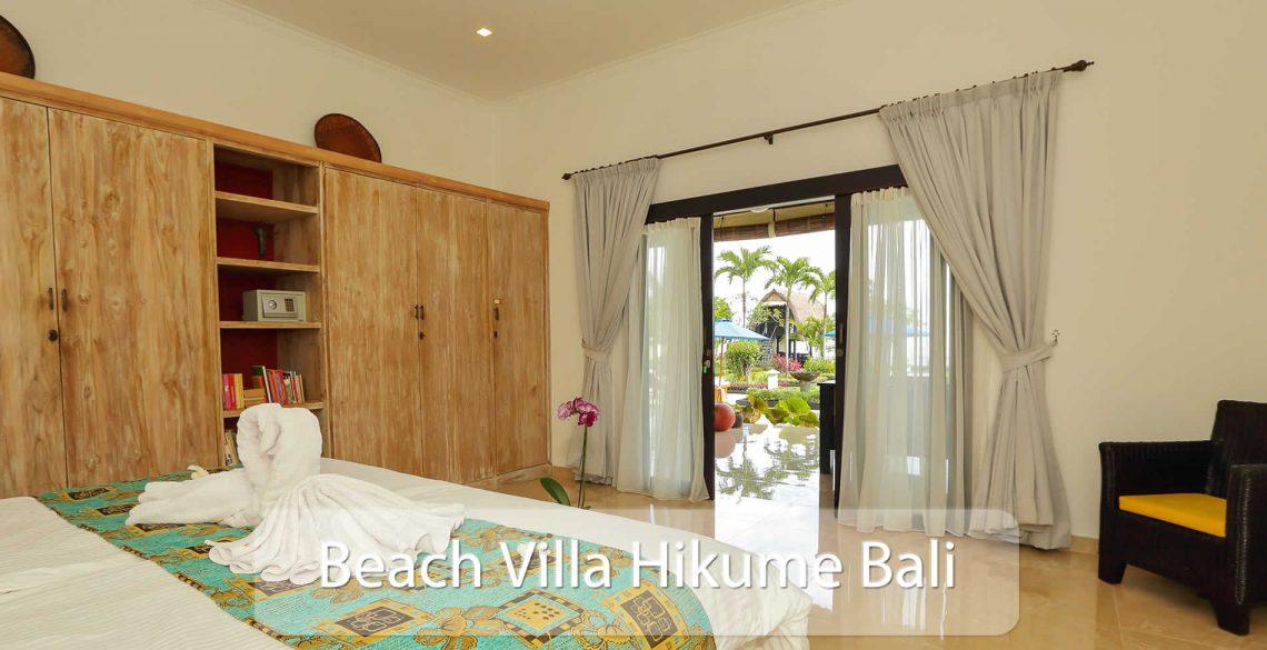 Beach Villa Hikume Bedroom