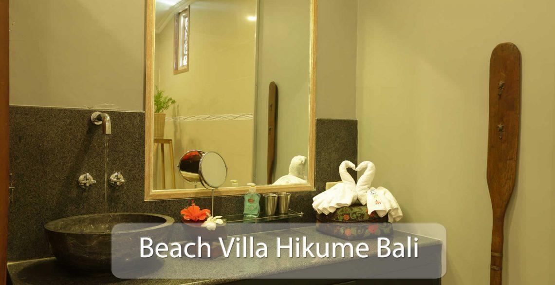 Beach Villa Hikume Bathroom