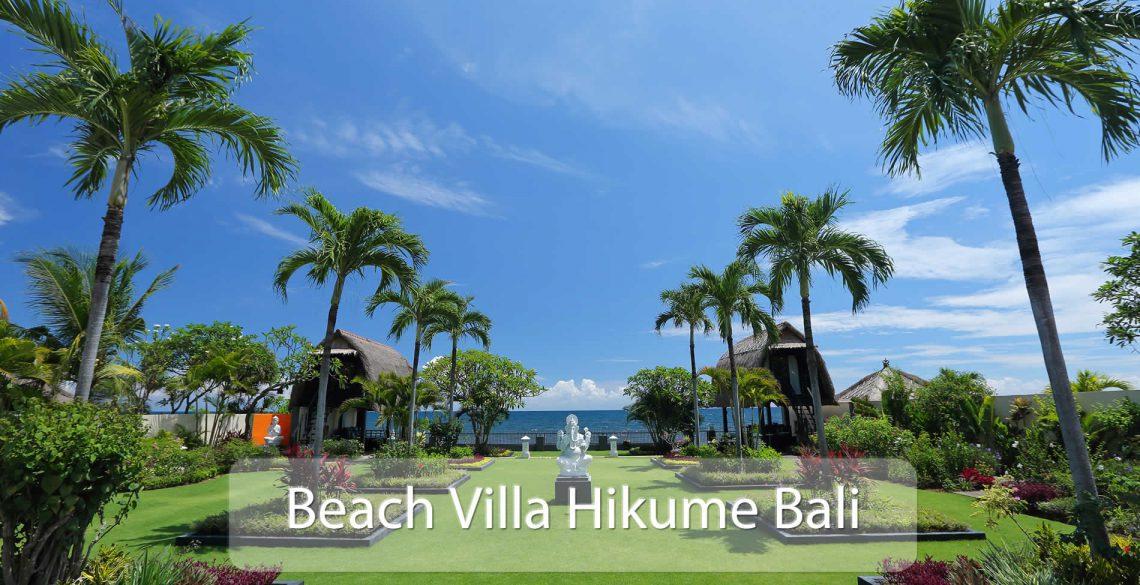 Beach Villa Hikume View