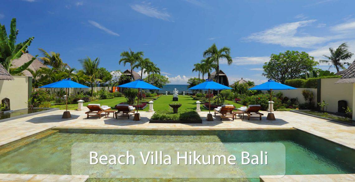 Beach Villa Hikume Pool View